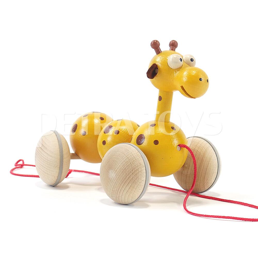 Wiggling Giraffe Pull-Along Toy