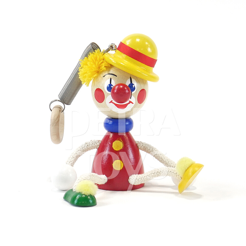 Clown Bouncing Mobile