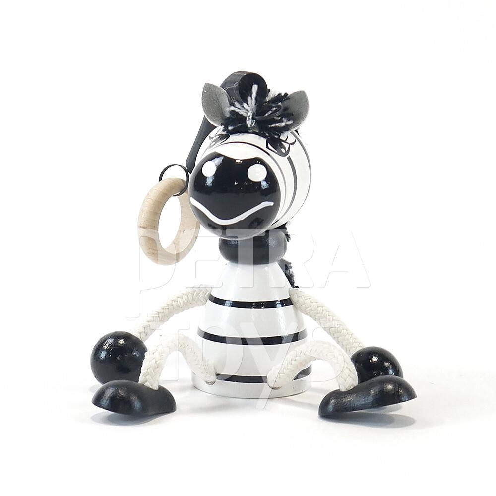 Zebra Bouncing Mobile