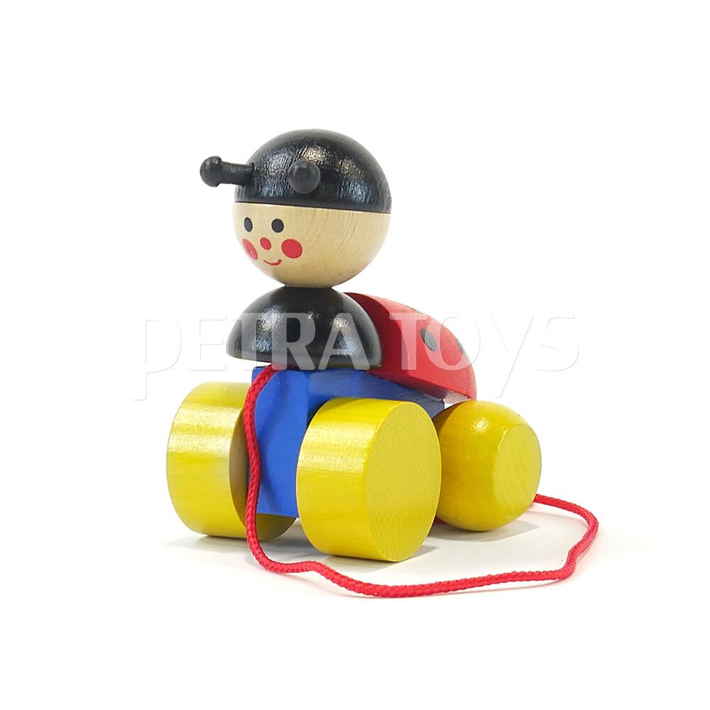 Little Ladybug Pull-Along Toy