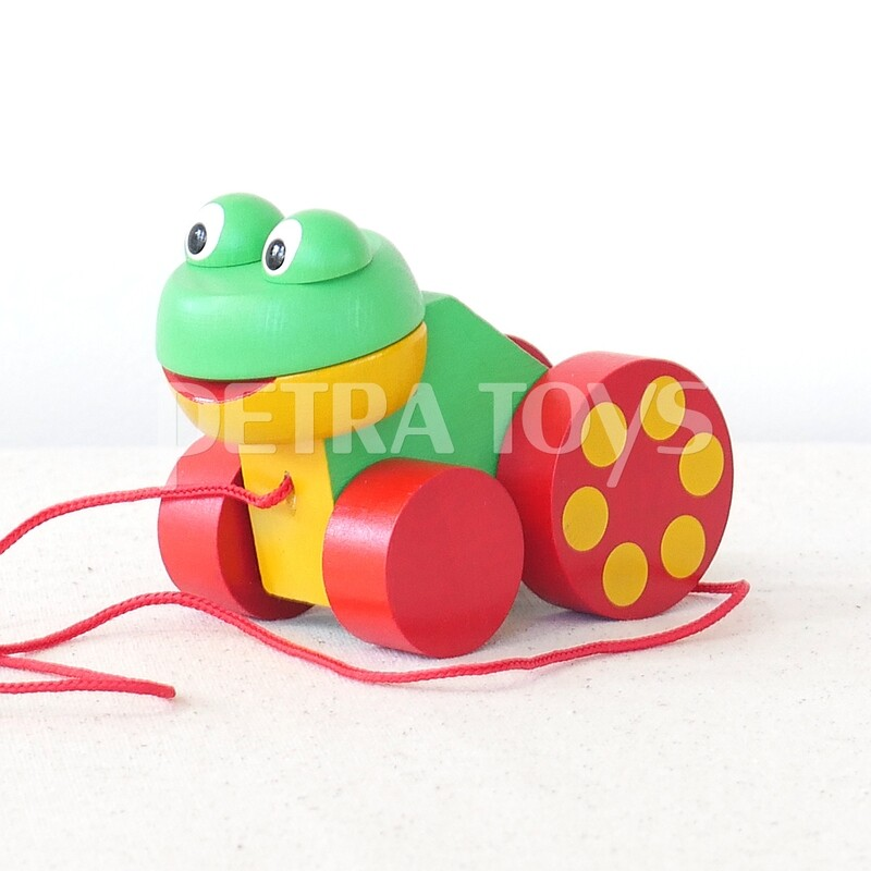 Little Frog Pull-Along Toy