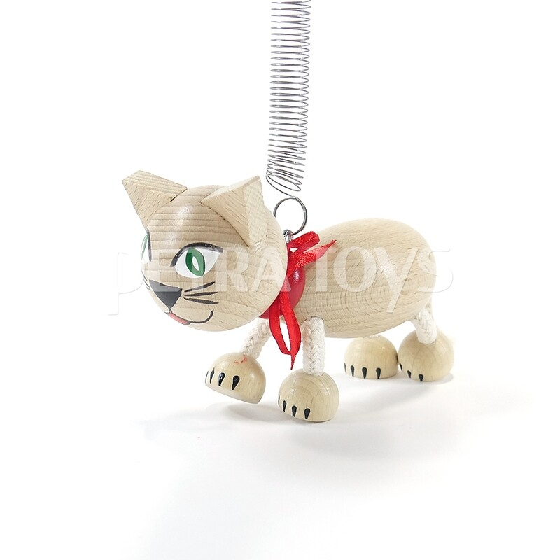 Flying Cat Mobile - Natural