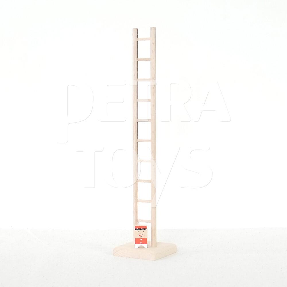 Clown on Ladder - Red