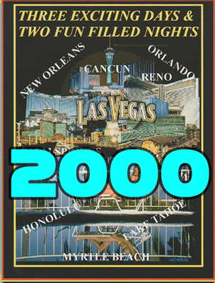 2,000 Full Color Printed Vacation Certificates