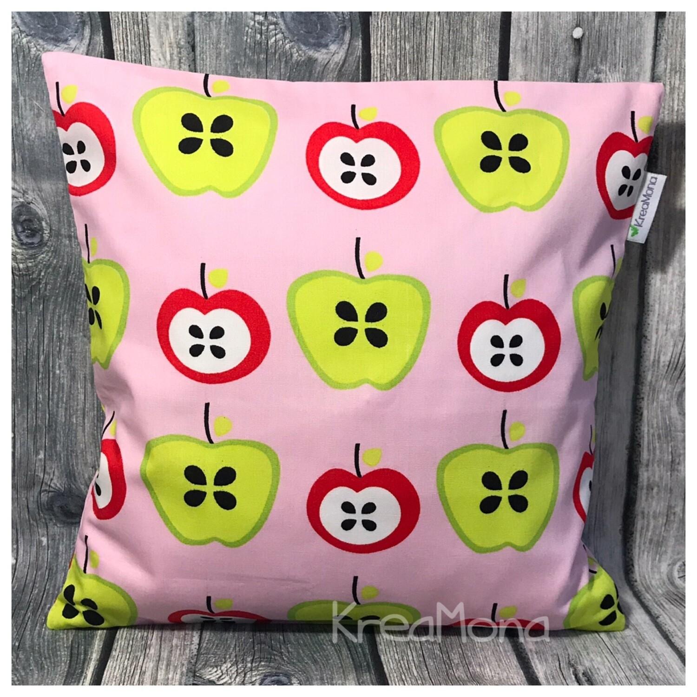 Zirbenkissen Apfel rosa