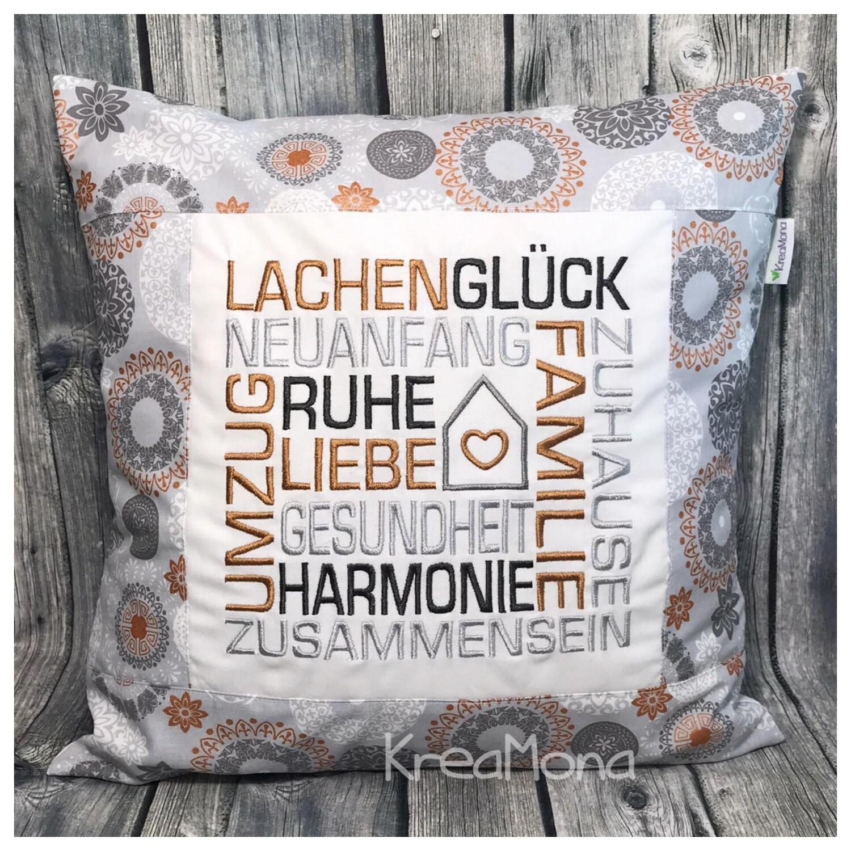 Kissen Mosaik Zuhause/Umzug