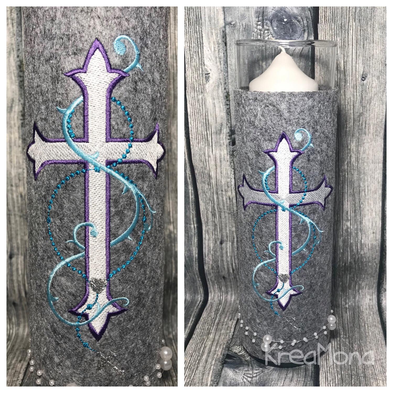 Windlicht Kreuz
