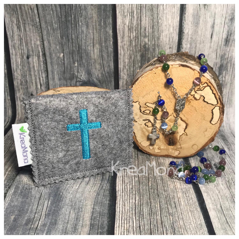 Filztasche Kreuz 2