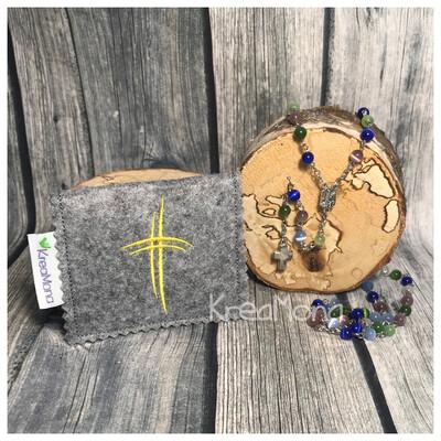 Filztasche Kreuz 3