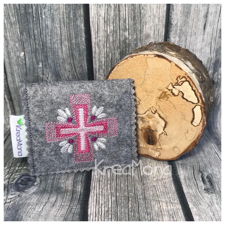 Filztasche Kreuz 4