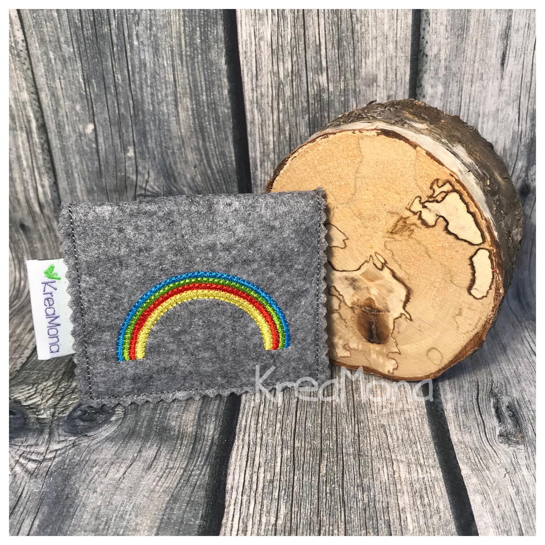 Filztasche Regenbogen