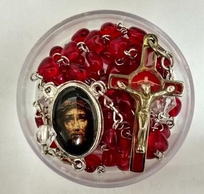 Chaplet of the Most Precious Blood.  Prayer Beads. ( Coronilla de la Preciosísima Sangre. Rosario.