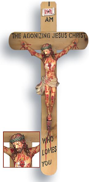 Agonizing Crucifix ( For consecrated members only)To order: call- 7134439465, 3028972036 (Crucifijo agonizante (solo para miembros consagrados) Para realizar un pedido: solo llame al 7134439465, 30289