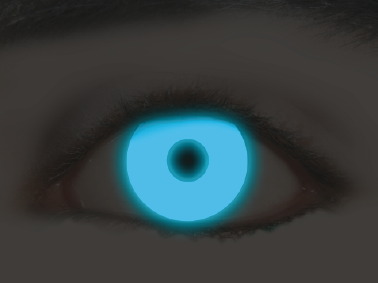 KawaEyes Fluo Blue