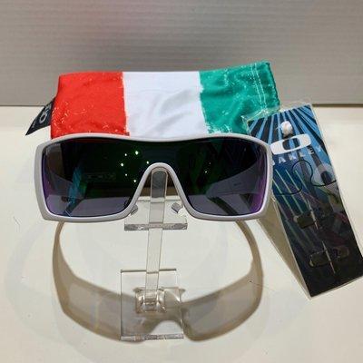 Oakley Batwolf Italy Edition - Matte White - Jade iridium