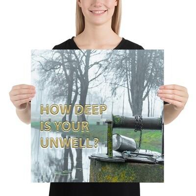 DEEP UNWELL Poster