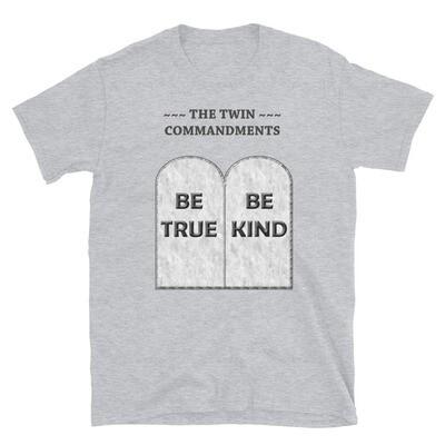 THE-TWIN-COMMANDMENTS Unisex Basic Softstyle T-Shirt