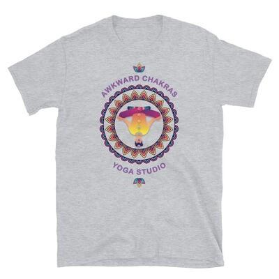 AWKWARD CHAKRAS YOGA STUDIO Unisex Basic Softstyle T-Shirt