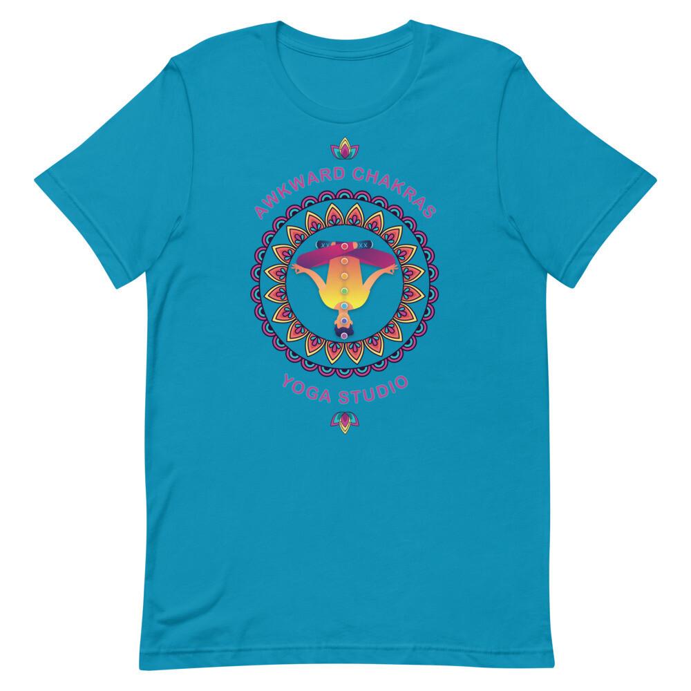 AWKWARD CHAKRAS YOGA STUDIO Unisex Premium T-Shirt