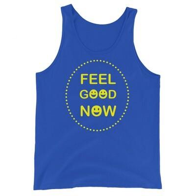 FEEL-GOOD-NOW Unisex Tank Top
