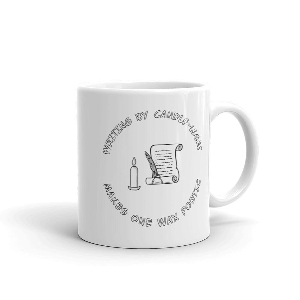 WAX-POETIC White glossy mug