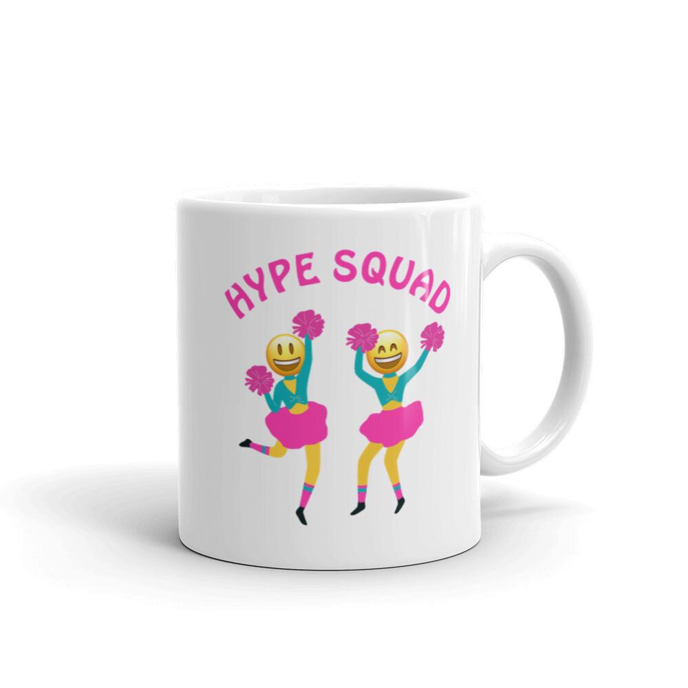HYPE SQUAD White glossy mug