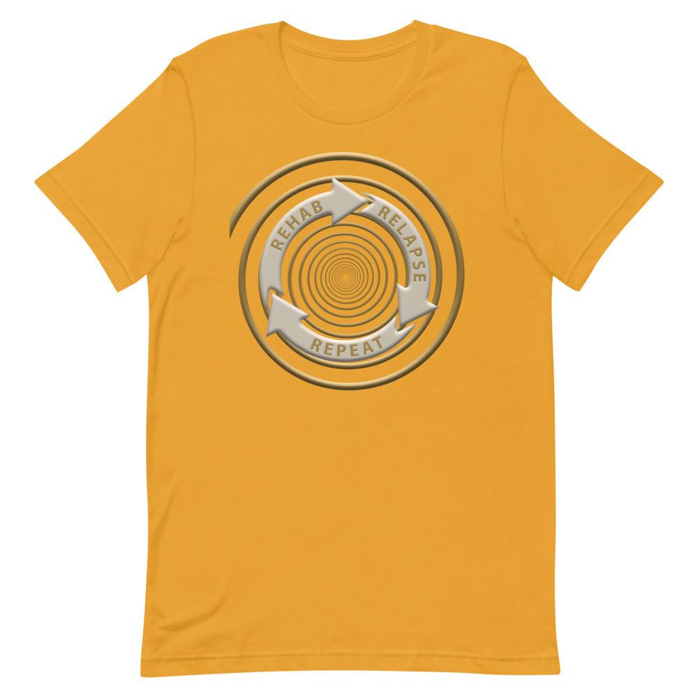 REHAB-RELAPSE-REPEAT Unisex Premium T-Shirt