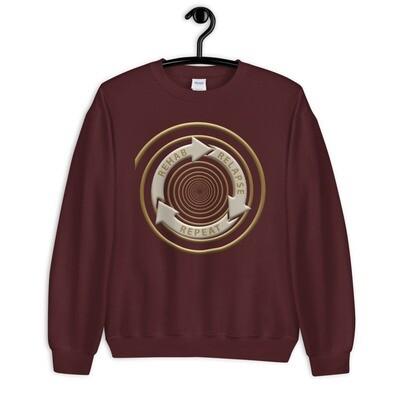 REHAB-RELAPSE-REPEAT Unisex Sweatshirt