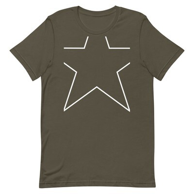 Clipped Star Unisex Premium T-Shirt