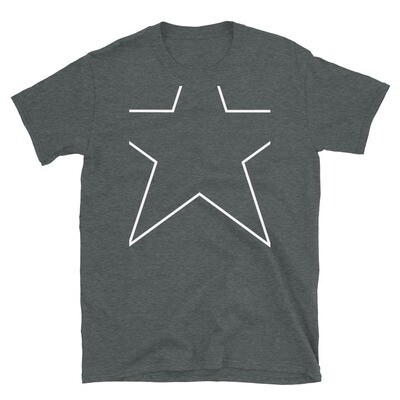 Clipped Star Unisex Basic Softstyle T-Shirt