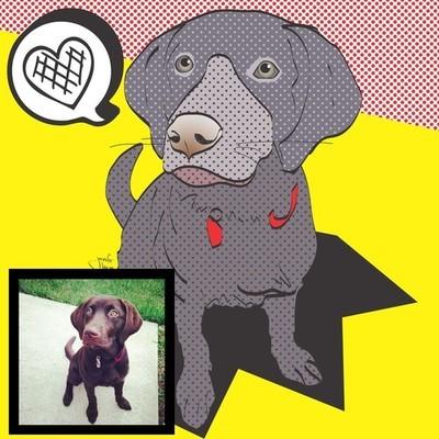 Fur-ocious Portraits - Pop Art Pet Prints