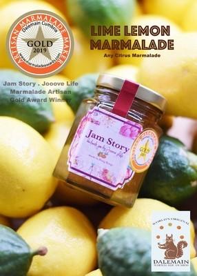 【2019 世界柑橘果醬大賽 - 金獎果醬】青檸檸檬果醬 Lime Lemon Marmalade (本地自然種植青檸檬)