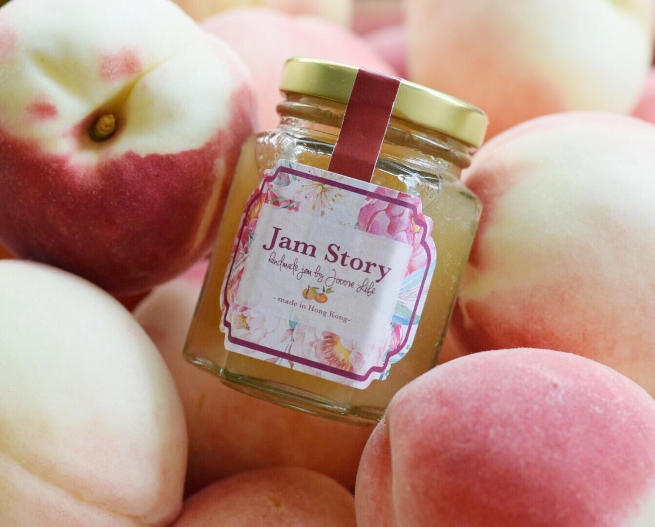 日本山梨縣水蜜桃橙花果醬 Peach Neroli Jam