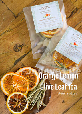 香橙檸檬橄欖葉茶 Orange Lemon Olive Leaves Tea