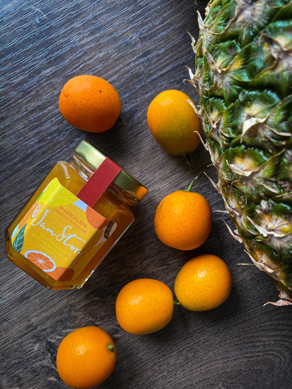 【2018銅獎果醬】柑桔菠蘿果醬 Kumquat Pineapple Marmalade