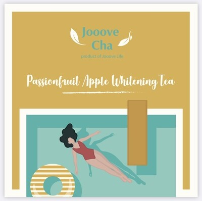 熱情果蘋果美白花茶 Passionfruit Apple Whitening Tea
