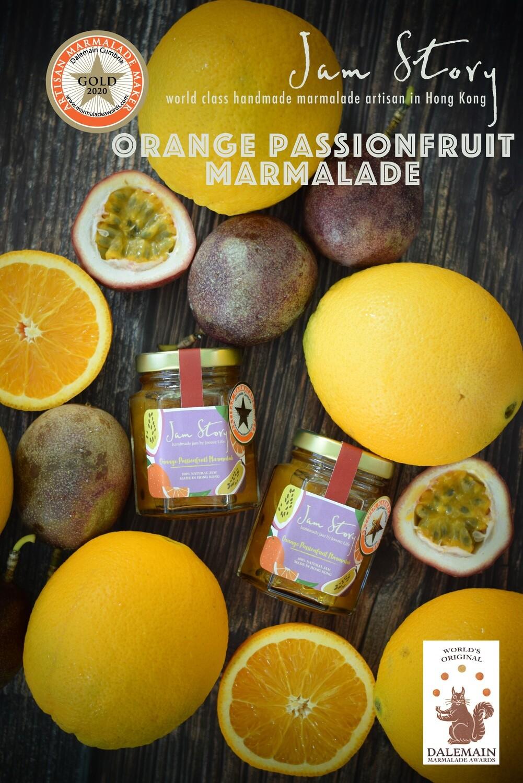 【2020 世界柑橘果醬大賽 - 金獎果醬】香橙熱情果果醬 Orange Passionfruit Marmalade