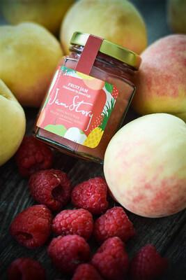 天然高原水蜜桃紅莓果醬 Peach Raspberry Jam