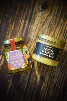 Pairing Set B:Maison Argaud 鴨肉鴨肝醬100g + Jam Story