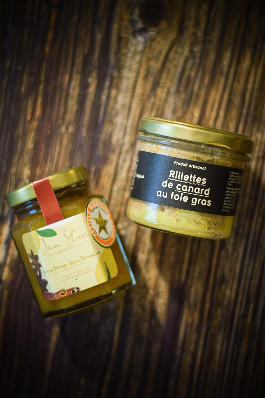 """Pairing Set C:Maison Argaud 鴨肉鴨肝醬100g + Jam Story """"檸檬芒果香料果醬100g"""""""