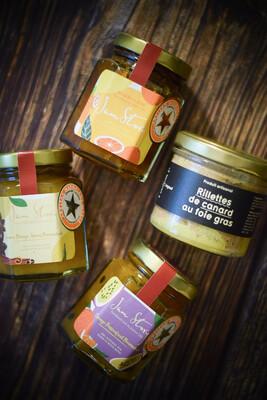 Pairing Set A: Maison Argaud 鴨肉鴨肝醬100g + Jam Story 2020 得獎果醬 3樽