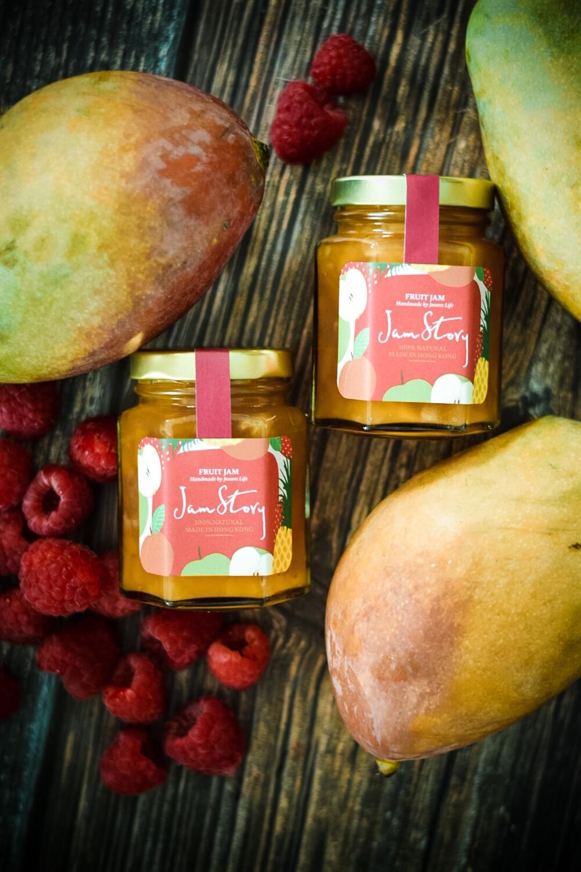 紅莓芒果果醬 Raspberry Mango Jam