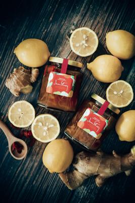 檸檬杞子老薑蜂蜜果茶 Lemon Goji Ginger Honey Tea