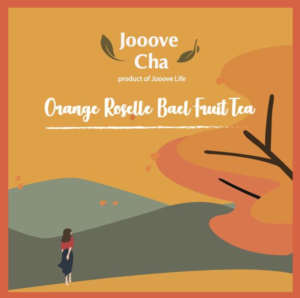 香橙洛神花木敦茶 (香港農產材料系列)