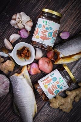 咸魚蒜香脆醬 (330g)