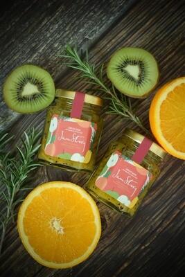 奇異果香橙迷迭香果醬 Kiwi Orange Rosemary Jam