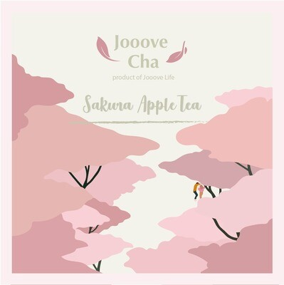 【Taste of Sakura】櫻花蘋果茶 Appel Sakura Tea