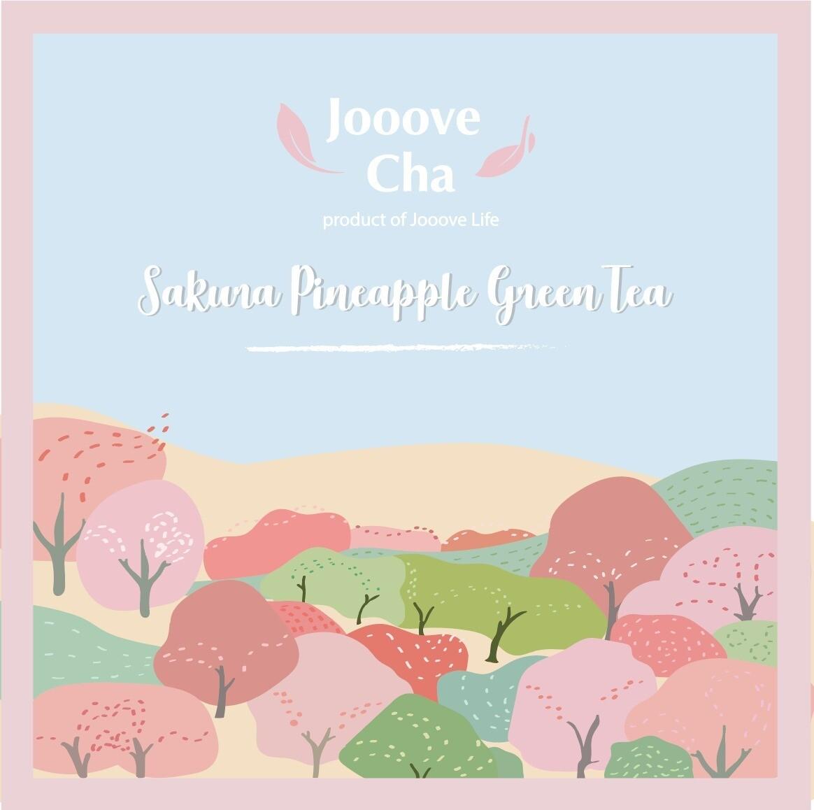 【Taste of Sakura】櫻花菠蘿綠茶 Appel Sakura Tea
