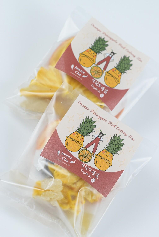 【女兒不懂茶 x Jooove Cha】香橙菠蘿紅烏龍茶