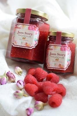 紅莓玫瑰果醬 Raspberry Rose Jam